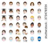 face   icon | Shutterstock .eps vector #373478554