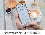 chiang mai  thailand   feb 8...   Shutterstock . vector #373488631
