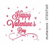 elegant greeting card design... | Shutterstock .eps vector #373537165