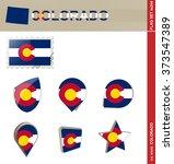 Colorado Flag Set  Us State ...