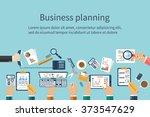 concepts business  teamwork... | Shutterstock .eps vector #373547629
