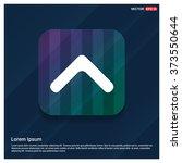 vector up arrow icon. vector... | Shutterstock .eps vector #373550644