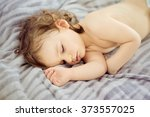close up portrait of a... | Shutterstock . vector #373557025