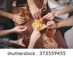 view on friends having... | Shutterstock . vector #373559455