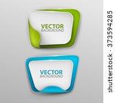 vector banners set | Shutterstock .eps vector #373594285