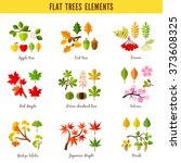 Set Of Flat Trees Elements....