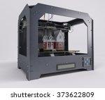 3d render of 3 dimensional ... | Shutterstock . vector #373622809