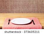 plate. | Shutterstock . vector #373635211