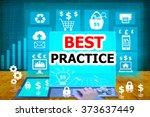 technology and biz concept... | Shutterstock . vector #373637449