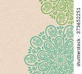 Mandala Background. Invitation...