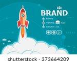 branding design and concept... | Shutterstock .eps vector #373664209