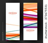 beautiful banner vector... | Shutterstock .eps vector #373675531