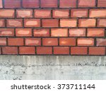 Wall Brick In Construction Site
