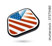 modern usa flag | Shutterstock .eps vector #37375480