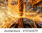 spot welding industrial... | Shutterstock . vector #373761079