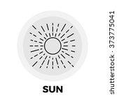 Sun Icon Vector. Sun Icon Flat...