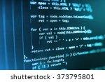computer source code programmer ...   Shutterstock . vector #373795801