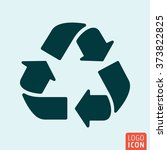 recycle icon. vector...