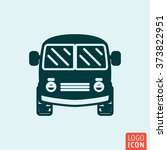 bus icon. mini van icon. vector ...