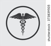 medicine symbol | Shutterstock .eps vector #373839505