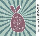 vector illustration. easter egg ... | Shutterstock .eps vector #373843231