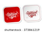 special offer stickers | Shutterstock .eps vector #373861219