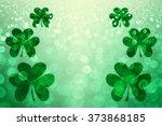 Abstract Lucky Green Irish St...