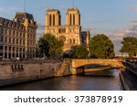 Notre Dame Cathedral In Paris ...