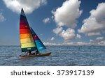 sailing | Shutterstock . vector #373917139