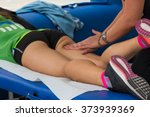 athlete's muscles professional... | Shutterstock . vector #373939369