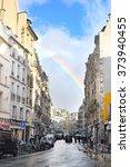 paris  france  february 8  2016 ... | Shutterstock . vector #373940455