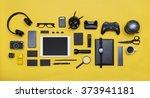 social media concept hero... | Shutterstock . vector #373941181