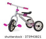 Children's tricycle pink...