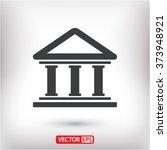 bank  icon | Shutterstock .eps vector #373948921