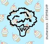 web line icon. broccoli | Shutterstock .eps vector #373958149