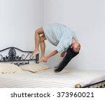 Levitating Girl Sleeping Over...