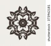 ornate mandala. gothic lace... | Shutterstock . vector #373962181