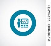 teacher icon vector | Shutterstock .eps vector #373962454