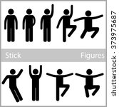 man people person basic body... | Shutterstock .eps vector #373975687