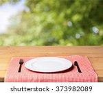 plate. | Shutterstock . vector #373982089