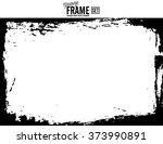 grunge frame   abstract texture ... | Shutterstock .eps vector #373990891