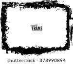 grunge frame   abstract texture ...   Shutterstock .eps vector #373990894