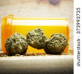 marijuana and cannabis  | Shutterstock . vector #373993735