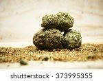 legal marijuana  | Shutterstock . vector #373995355