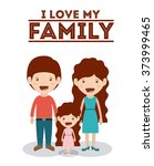 the best family design  | Shutterstock .eps vector #373999465