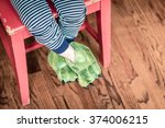 Child Monster Feet
