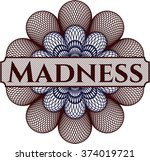 madness abstract rosette