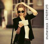 Young Fashion Business Woman I...