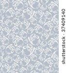 seamless round grey pattern   Shutterstock .eps vector #37409140