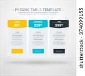 vector design template for... | Shutterstock .eps vector #374099155